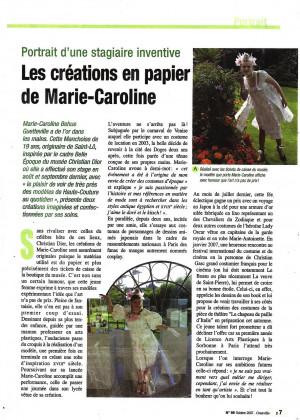 Granville mag article